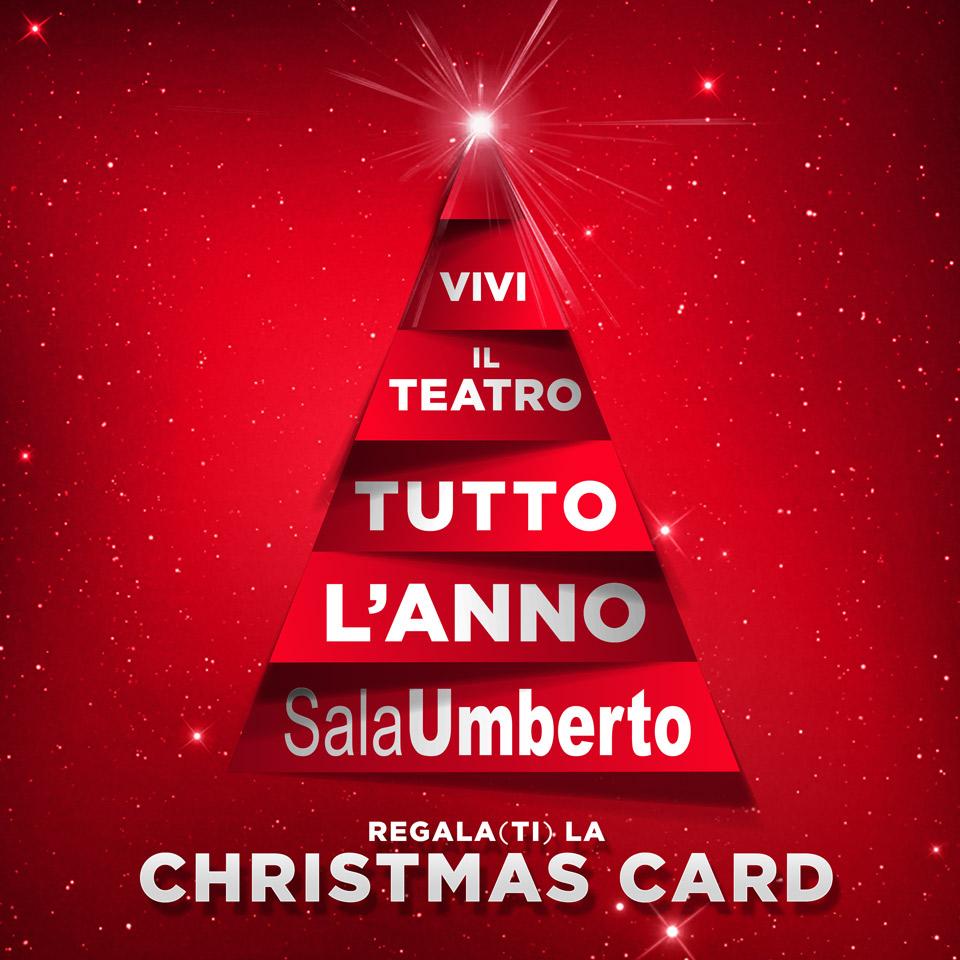 A NATALE REGALA LA CHRISTMAS CARD